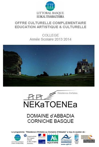 Offre_culturelle_complementaire_education_artistique_amp_culturelle_college_annae_scolaire_2013_2014